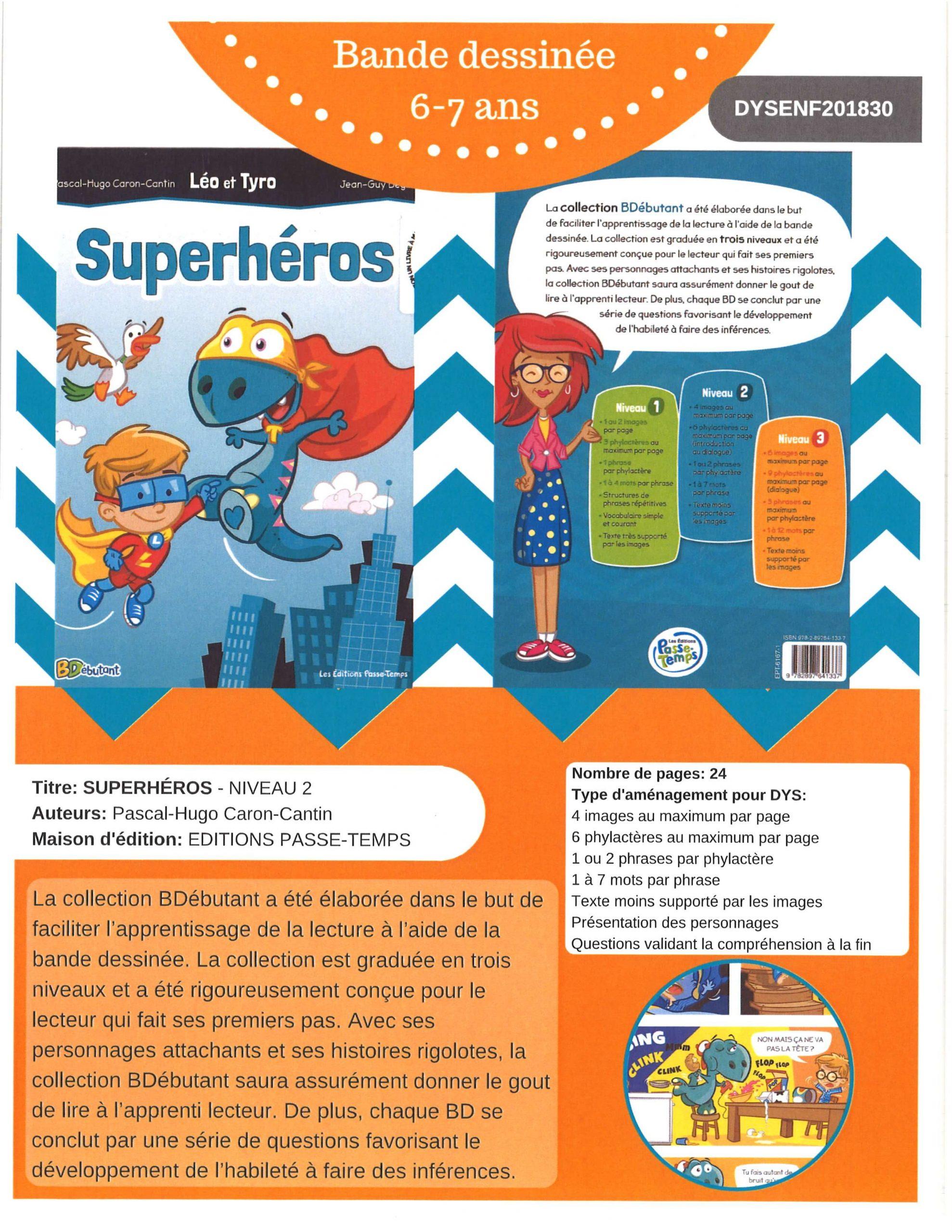 Superhéros - Niveau 2 Image