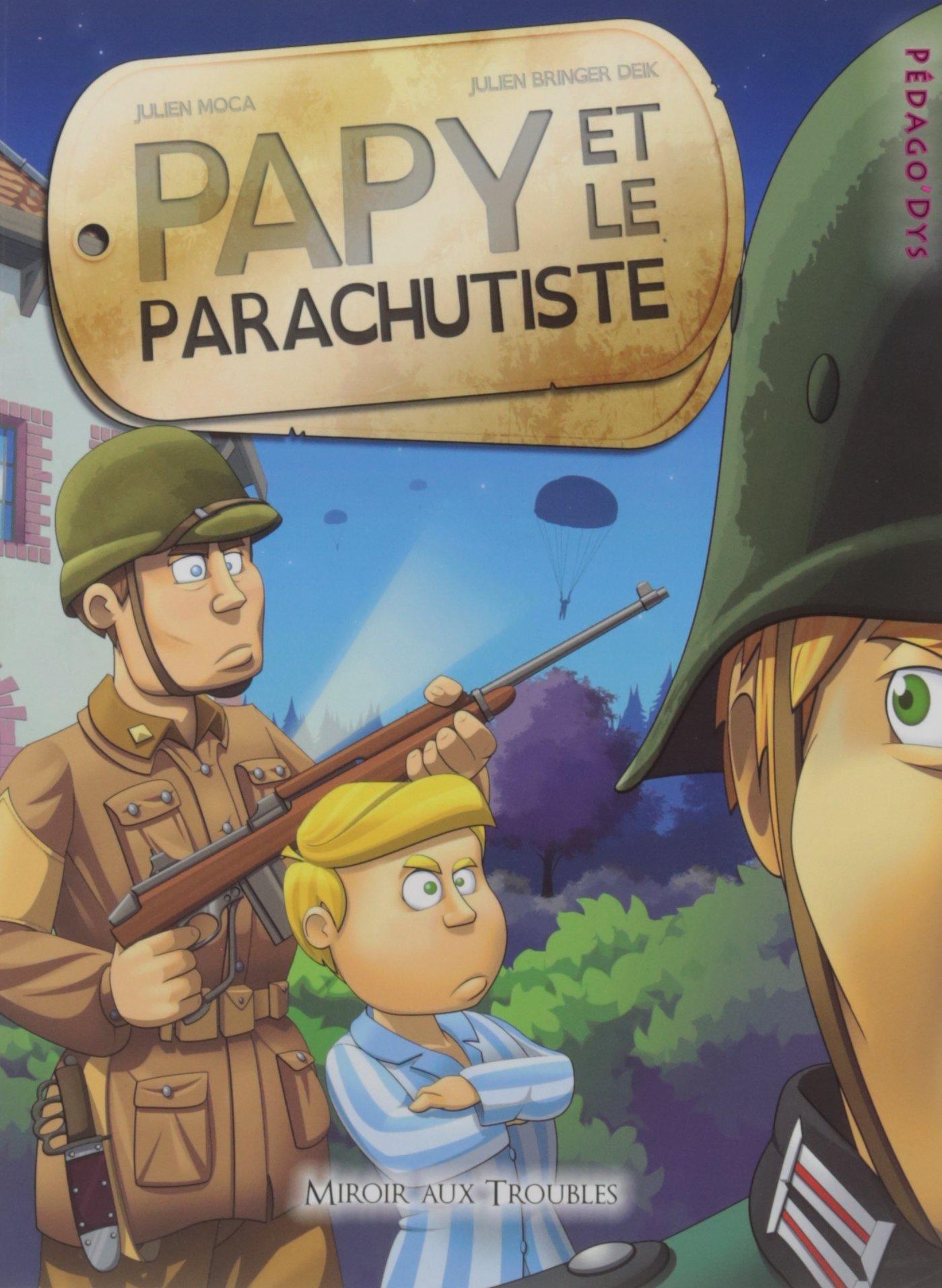 Papy et le parachutiste Image