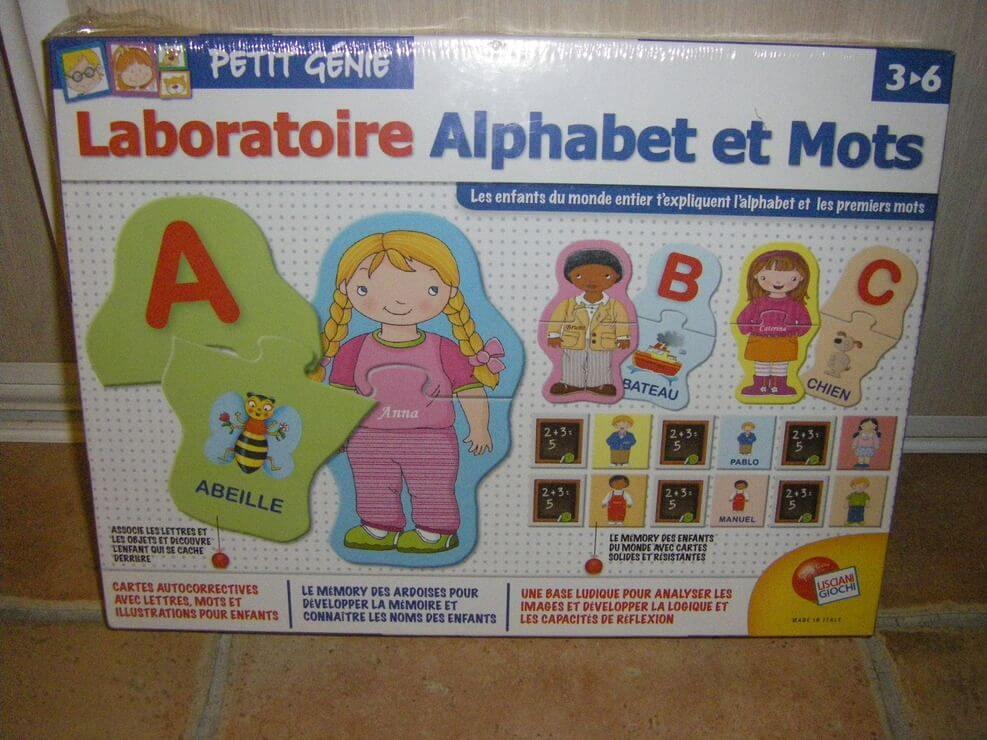 Laboratoire : alphabet et mots Image